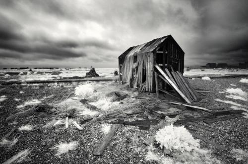 Lee Frost Derelict fisherman's hut, Dungeness, Kent, England.jpg